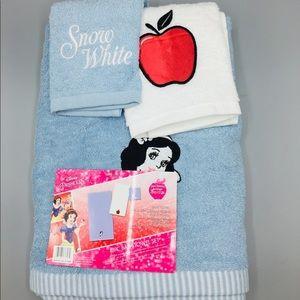 Disney Princess Snow White 3 Piece Towel Set